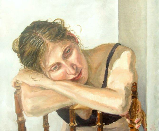Portrait in Öl malen lassen - Stephan Ois - Portraitmaler in Wien. Portraitaufträge
