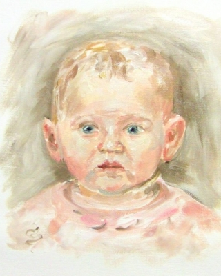 Babyportrait Auftrag
