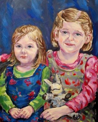 Kinder Portrait malen lassen