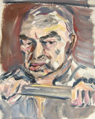 Kuenstlerportrait-Otto-Muehl-Schnellportrait1