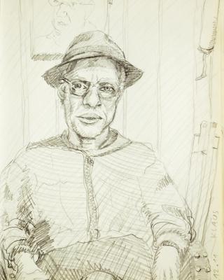 portraitzeichnung wien österreich porträt bleistiftzeichnung