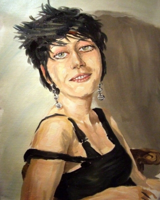 portrait in öl malen-zeichnen lassen