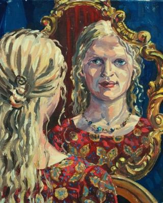 namita-Portrait malen lassen in Wien
