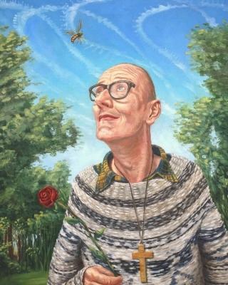 Stephan Ois - moderne Portraits-funky portrait malen lassen vienna austria