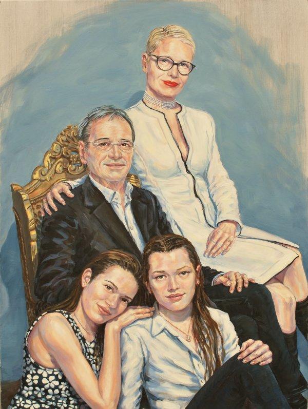 Stephan Ois - ein lebendiges Portrait malen lassen - Portrait Gemälde vom Foto