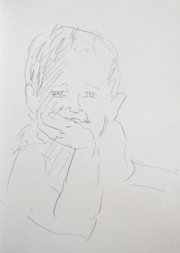 Stephan Ois - lebendige Porträtzeichnungen - portrait zeichnen lassen in Wien