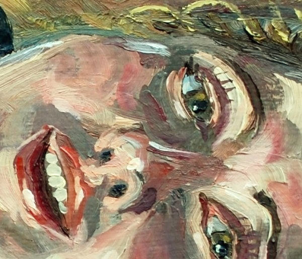Stephan Ois - lebendige Ölporträts - Portraits in Öl auf Leinwand