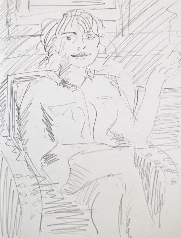 Portrait zeichnen lassen in Wien - Stephan Ois