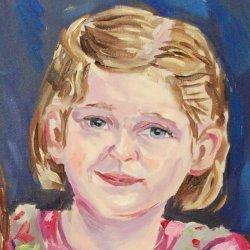 Kinderportrait vom Porträtmaler