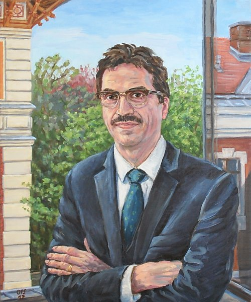 Portraitmalerei für die Universität wien - Rektorengalerie