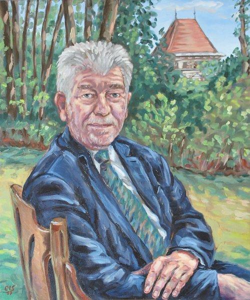 Portraitmalerei für die Boku-Wien - Rektorengalerie