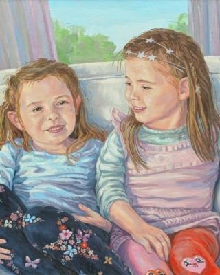 Kinderportrait Öl, Portraitmaler gesucht Wien