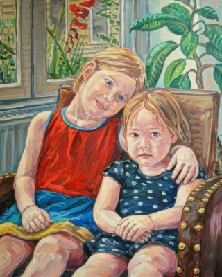 Portraitmaler - Stephan Ois - lebendige Öportraits